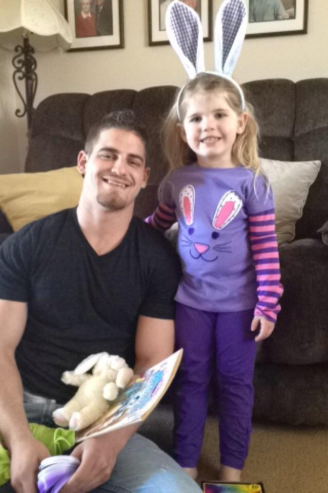 Derek DiNovo and lilly